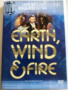 Earth, Wind & Fire DVD 2002 Live by Request / Collectors Edition / Directed by Lawrence Jordan / Hosted by Mark McEwen / Created by Tony Bennett (5099705403693)