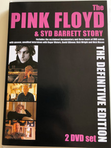 The Pink Floyd & Syd Barrett Story 2 DVD Set 2005 / The Definitive Edition / Roger Waters interview, David Gilmour, Nick Mason (5060071500026)