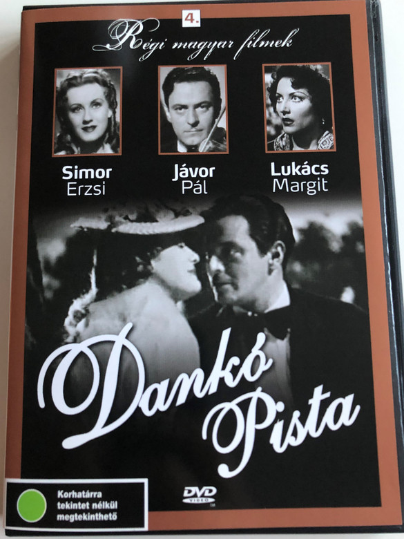 Dankó Pista DVD 1940 / Directed by Kalmár László / Starring: Simor Erzsi, Jávor Pál, Lukács Margit / Régi magyar filmek 4. / Old Hungarian Movies / Black&White (5999882685069)