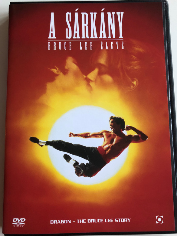 Dragon - The Bruce Lee Story DVD 1993 A Sárkány - Bruce Lee élete / Directed by Rob Dohan / Starring: Jason Scott Lee, Lauren Holly, Nancy Kwan, Robert Wagner