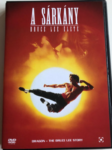 Dragon - The Bruce Lee Story DVD 1993 A Sárkány - Bruce Lee élete / Directed by Rob Dohan / Starring: Jason Scott Lee, Lauren Holly, Nancy Kwan, Robert Wagner