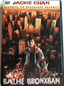 Rumble in the Bronx DVD 1995 Balhé Bronxban / Directed by Stanley Tong / Starring: Jackie Chan, Anita Mui, Françoise Yip (5998329507001)