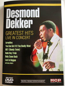Desmond Dekker DVD Greatest Hits Live in Concert / Israelites, You Can Get it if your Really Want, Baby Come Back / MCP Sound & Media 161.219 (9002986612193)