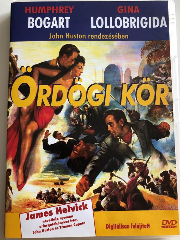 Beat the Devil DVD 1953 Ördögi kör / Directed by John Huston / Starring: Humphrey Bogart, Gina Lollobirigida, Jennifer Jones, Robert Marley (5999881767711)