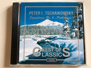 "Peter I. Tchaikowsky ‎– Symphonie Nr 6 ""Pathétique"" / Best Of Classics / Point Classics Audio CD Stereo / 446980-2"