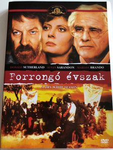 A Dry white season DVD 1989 Forrongó Évszak / Directed by Euzhan Palcy / Starring: Susan Sarandon, Marlon Brando, Donald Sutherland (5999546332612)