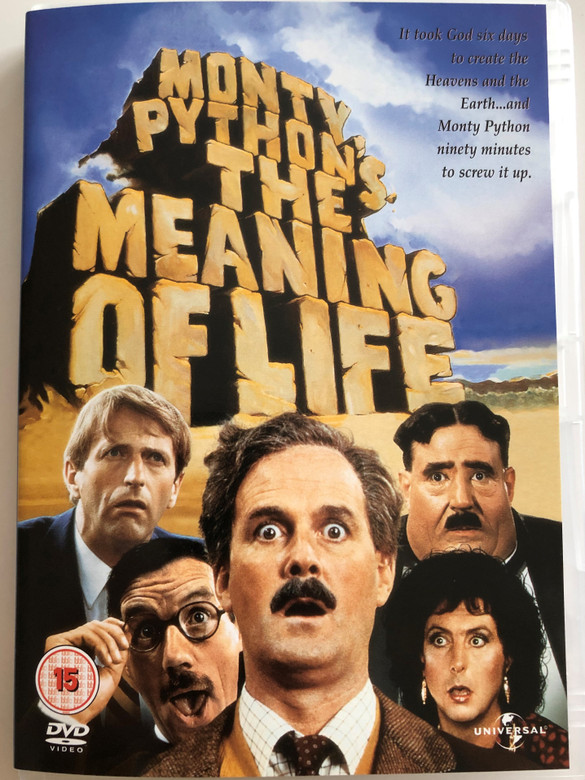 Monty Python's The Meaning of Life DVD 1983 / Directed by Terry Jones / Starring: Graham Chapman, John Cleese, Terry Gilliam, Eric Idle, Michael Palin (5050582224276)