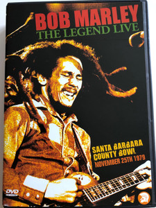 Bob Marley The Legend - Live DVD 2003 Santa Barbara County Bowl / November 25th 1979 / SVE 30048 (5050361730486)