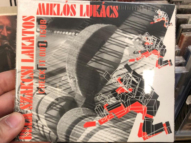 Béla Szakcsi Lakatos, Miklós Lukács – Check It Out, Igor / Budapest Music Center Records Audio CD 2005 / BMC CD 108