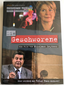 Die geschworene DVD 2007 The Sworn in / Directed by Nikolaus Leytner / Starring: Christiane Hörbiger, Erwin Steinhauer (9006472008262)