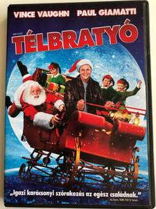 Fred Claus DVD 2008 Télbratyó / Directed by David Dobkin / Starring: Vince Vaughn, Paul Giamatti, Miranda Richardson, John Michael Higgins (5999048923394)