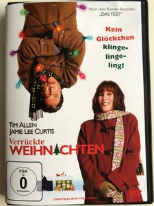 Christmas with the Kranks DVD 2004 Verrückte Weihnachten / Directed by Joe Roth / Starring: Tim Allen, Jamie Lee Curtis, Dan Aykroyd, Erik Per Sullivan, Cheech Marin (4030521376755)