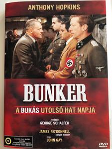 The Bunker DVD 1981 Bunker - A bukás utolsó hat napja / Directed by George Schaefer / Starring: Anthony Hopkins, Richard Jordan, Cliff Gorman, Susan Blakely (5999545561532)