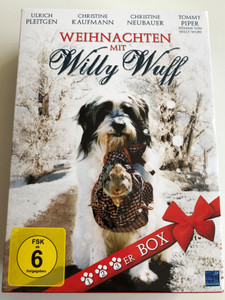 Weihnachten mit Willy Wuff DVD BOX 2014 Christmas with Willy Wuff / Directed by Maria Theresia Wagner / Starring: Ulrich Pleitgen, Gisela Schneeberger, Gruschenka Stevens, Marita Breuer (4260318089418)