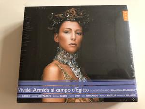 Vivaldi – Armida Al Campo D'Egitto / Concerto Italiano, Rinaldo Alessandrini / Naïve 3x Audio CD 2010 / OP 30492