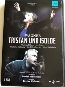Wagner - Tristan und Isolde DVD 2008 / Orchestra e Coro del Teatro alla Scala / Conducted by Daniel Barenboim / Directed by Patrice Chéreau / 3 DVD (5099951931599)