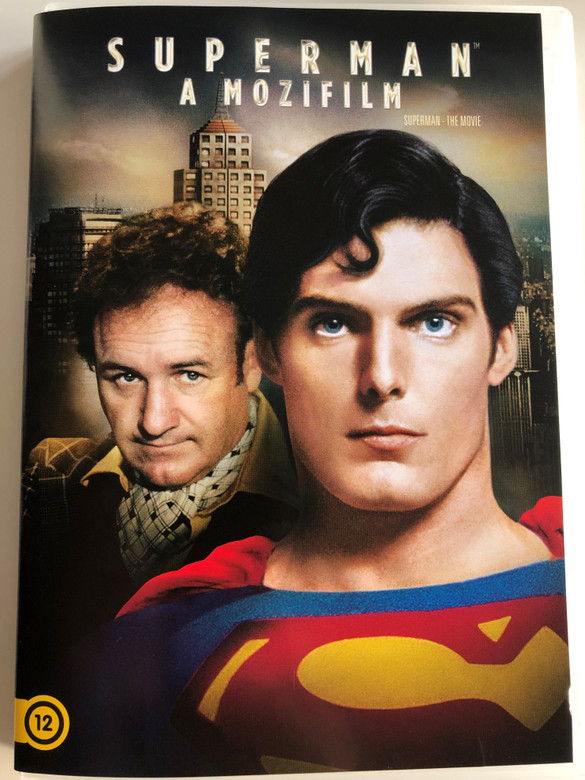 Superman - The Movie DVD Superman - A Mozifilm / Directed by Richard Donner / Starring: Christopher Reeve, Ned Beatty, Jackie Cooper, Glenn Ford (5996514023503)