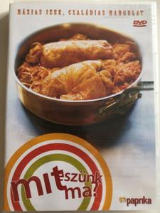 Mit eszünk ma? DVD Házias Ízek, Családias hangulat / Paprika TV / Learn Cooking Hungarian Food - Recepies / Magyar Konyha receptek / Bede Róbert, Serényi Zoltán (5999883047453)