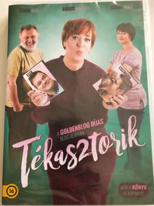 Tékasztorik DVD 2016 Hungarian movie / Directed by Martin Csaba, Czupi Kála / Starring: Bihari Viktória, Csuja Imre, Görbe Nóra, Elek Ferenc (5999546338416)
