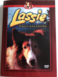 Lassie's Great Adventure DVD 1963 Lassie nagy kalandja / Directed by William Beaudine / Starring: June Lockhart, Hugh Reilly, Jon Provost, Robert Howard (5996473002236)