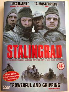 Stalingrad DVD 1992 / Directed by Joseph Vilsmaier / Starring: Dominique Horwitz, Thomas Kretschmann, Jochen Nickel (5017239190254)