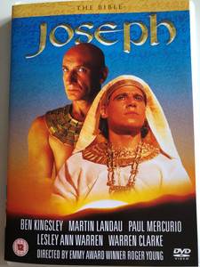 The Bible - Joseph DVD 1995 / Directed by Roger Young / Starring: Ben Kingsley, Paul Mercurio, Martin Landau, Lesley Ann Warren (5060070995151)
