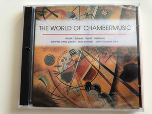 The World Of Chambermusic / Mozart, Schubert, Haydn, Beethoven / Budapest String Quartet, Artur Schnabel, Benny Goodman A. M. O. / TIM Cz 3x Audio CD 2003 / 221479-349