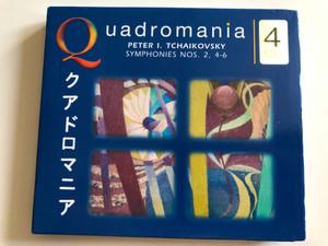 Quadromania 4 / Peter I. Tchaikovsky - Symphonies Nos. 2, 4-6 / Quadromania 4x Audio CD 2004 / 222178-444
