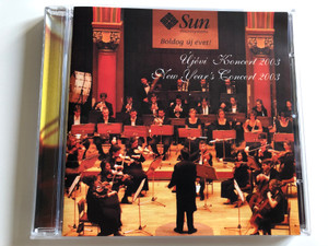 New Year's Concert 2003 / Dohnanyi Orchestra Budafok Audio CD / DOB-CD 006