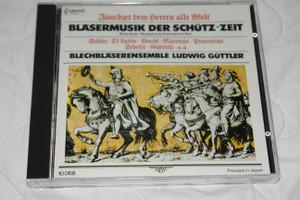 Blasermusik Der Schütz-Zeit / Blechblaserensemble Ludwig Güttler / Capriccio Audio CD 1985 Stereo / 10 068