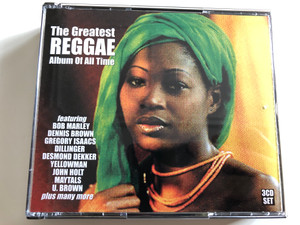 The Greatest Reggae Album Of All Time / Featuring Bob Marley, Dennis Brown, Gregory Isaacs, Dillinger, Desmond Dekker, Yellowman, John Holt, Maytals, U. Brown plus many more / Dressed To Kill 3x Audio CD 1998 / REDTK103