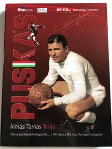 Puskás - Hungary DVD / Directed by Almási Tamás / Film a leghíresebb magyarról / Film about the most famous Hungarian / Ferenc Puskás (1927 - 2006) / Featuring in film: Pelé, Sir Alex Ferguson (5999883601099)