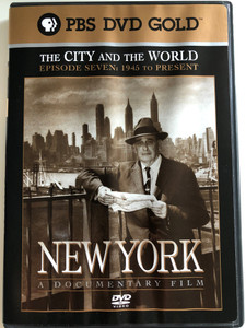 New York - Episode 7: 1945 to present DVD 1999 / Directed by Ric Burns / Produced by Lisa Ades, Ric Burns and Steve Rivo / PBS DVD Gold / The History of NYC / A compelling portrait of the greatest and most complex of cities (794054858525)