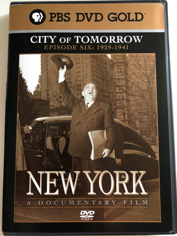 New York - Episode 6: 1929 to 1941 DVD 2001 / Directed by Ric Burns / Produced by Lisa Ades, Ric Burns and Steve Rivo / PBS DVD Gold / The History of NYC / A compelling portrait of the greatest and most complex of cities (794054858426)