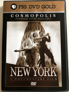 New York - Episode 5 - 1919 to 1931 (Cosmopolis) DVD 1999 / Directed by Ric Burns / Produced by Lisa Ades, Ric Burns and Steve Rivo / PBS DVD Gold / The History of NYC / A compelling portrait of the greatest and most complex of cities (794054858327)