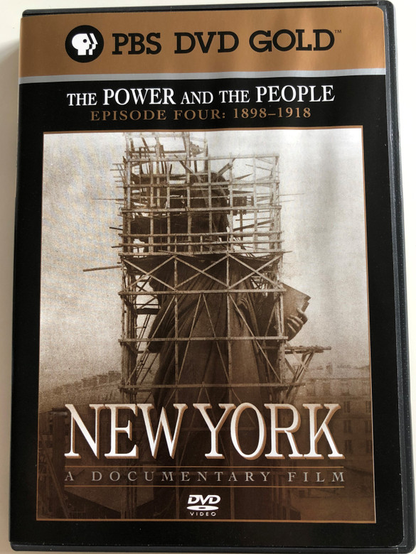 New York - Episode 4 - 1898-1918 (The power and the People) DVD 1999 / Directed by Ric Burns / Produced by Lisa Ades, Ric Burns and Steve Rivo / PBS DVD Gold / The History of NYC / A compelling portrait of the greatest and most complex of cities (794054858228)