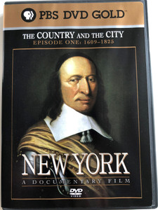 New York - Episode 1 - 1609 to 1825 DVD 1999 / Directed by Ric Burns / Produced by Lisa Ades, Ric Burns and Steve Rivo / PBS DVD Gold / The History of NYC / A compelling portrait of the greatest and most complex of cities (794054857924)