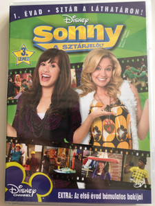 Sonny with a Chance Season 1 - Vol 3. DVD 2009 Sonny a sztárjelölt / Created by Steve Marmel / Starring: Demi Lovato, Tiffany Thornton, Sterling Knight, Brandon Mychal Smith, Doug Brochu, Allisyn Ashley Arm (5996255731484)