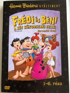 The Flintstones Season 3 DVD 1966 Frédi és Béni A két kőkorszaki szaki / Season 3 / Harmadik évad / Episodes 1-6 / Disc 1 / Hanna-Barbera / Animated Classic (5999048907882)