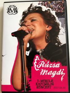 Rúzsa Magdi DVD 2007 / T-Mobile kapcsolat Koncert / Hip-Hop, Eltévedt idegen, Piece of my Heart, Bohemian Rhapsody, Ederlezi, Most élsz / CLS Records (5999542212062)