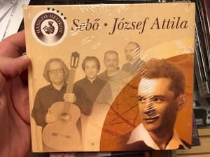 Sebő Ferenc - József Attila / The poems of Attila József with music / Hungarian poetry with Audio CD / Hangzó Helikon 2010 (9789632089300)