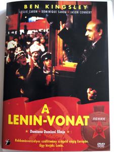 Lenin: The Train DVD 1990 A Lenin-Vonat / Directed by Damiano Damiani / Starring: Ben Kingsley, Leslie Caron, Dominique Sanda, Timothy West (5999546332322)