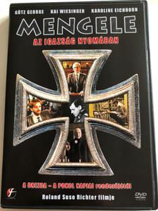 Nichts als die Wahrheit DVD 1999 Mengele - Az igazság nyomában / Directed by Roland Susa Richter / Starring: Götz George, KAi Wiesinger, Karoline Eichhorn (5999546332339)