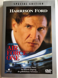 Air Force One DVD 1997 / Directed by Wolfgang Petersen / Starring: Harrison Ford, Gary Oldman, Wendy Crewson (4011846003731)