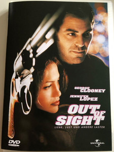 Out of Sight DVD 1998 Liebe, Lust und Adere Laster / Directed by Steven Soderbergh / Starring: Geroge Clooney, Jennifer Lopez (3259190354111)