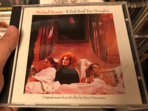Michael Nyman: A Zed And Two Noughts / Original music from the film by Peter Greenaway / Venture Audio CD / DVEBN 55(2)