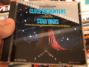 John Williams – Close Encounters Of The Third Kind And Star Wars / Charles Gerhardt, National Philharmonic Orchestra ‎/ RCA Victor Audio CD / GD82698