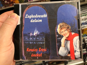 Legkedvesebb Dalaim - Kovács Erzsi enekel / Nóta Discont Audio CD / 5998267110011