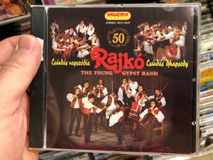 Rajko - Csardas Rhapsody / The Young Gypsy Band / Hungaroton Classic Audio CD 2002 Stereo / HCD 10316
