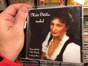 Máté Ottília enekel / Kozremukodik: Puka Karoly es nepi zenekara / Nota Discont Audio CD / 5998267110165